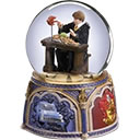 Ron Weasley with Howler Waterglobe