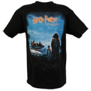 Harry and Hagrid Retro Poster Adult T-Shirt