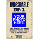 Undesirable No. 1 Custom Photo Poster without Harry Potters Name