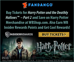 Advance Movie Tickets Harry Potter and the Deathly Hallows Part 2