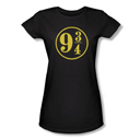 Harry Potter 9 3/4 Women's Fitted T-Shirt from Warner Bros.