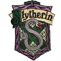 Harry Potter Slytherin Patches