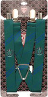 Harry Potter Slytherin Suspenders