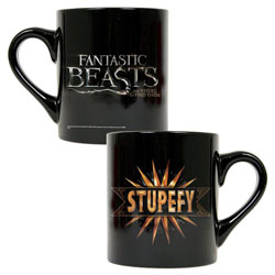 Fantastic Beasts And Where To Find Them Stupefy Black Mug from Warner Bros.